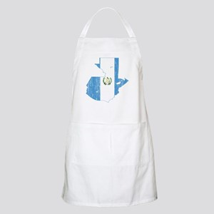 Guatemala Flag And Map Apron