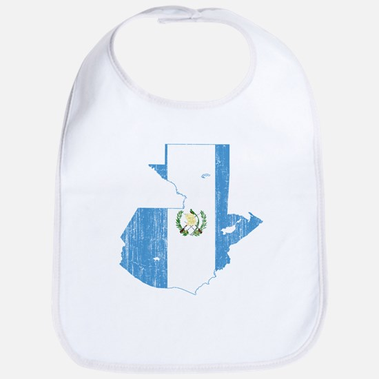 Guatemala Flag And Map Bib