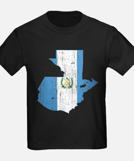 Guatemala Flag And Map T