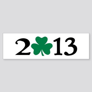 2013 shamrock Sticker (Bumper)