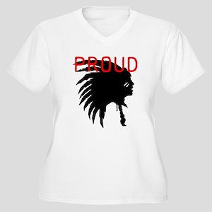 Proud Women's Plus Size V-Neck T-Shirt