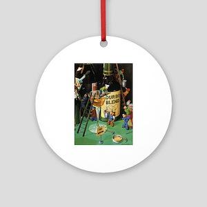 Teenie Weenies Ornament (Round)