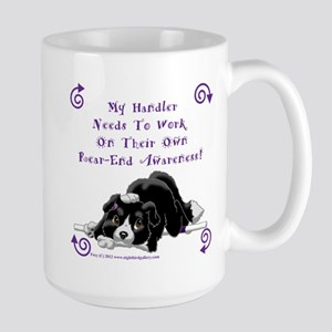 Handler Rear-end Awareness Large Mug