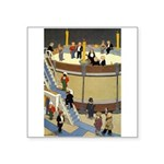 Teenie Weenies Square Sticker 3
