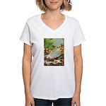 Teenie Weenies Women's V-Neck T-Shirt