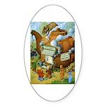 Teenie Weenies Sticker (Oval 10 pk)