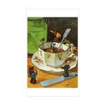 Teenie Weenies Sticker (Rectangle 10 pk)