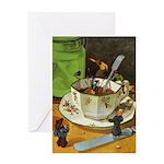 Teenie Weenies Greeting Card