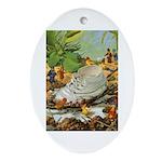 Teenie Weenies Ornament (Oval)