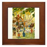 Teenie Weenies Framed Tile