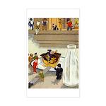 Teenie Weenies Sticker (Rectangle)