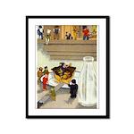 Teenie Weenies Framed Panel Print