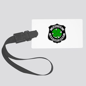 Irish Police Officers Large Luggage Tag