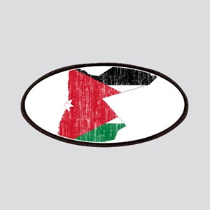 Jordan Flag And Map Patches