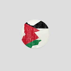 Jordan Flag And Map Mini Button