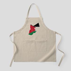 Jordan Flag And Map Apron