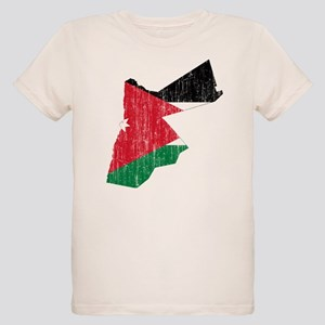 8d9a02f62 Jordan Flag Organic Kids T-Shirts - CafePress