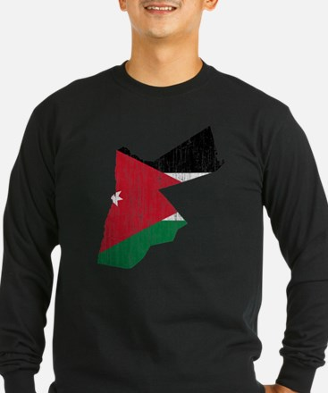 Jordan Flag And Map T