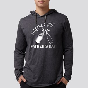 HAPPY FIRST FATHER'S DAY SHIRT Mens Hooded Shirt