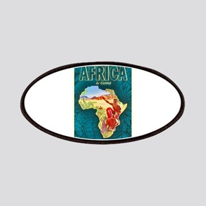 Africa Travel Poster 1 Patches