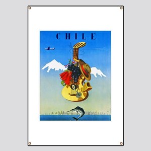 Chile Travel Poster 1 Banner