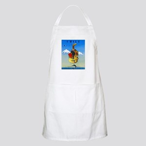 Chile Travel Poster 1 Apron