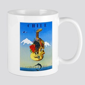 Chile Travel Poster 1 Mug