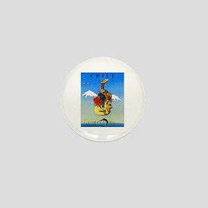 Chile Travel Poster 1 Mini Button