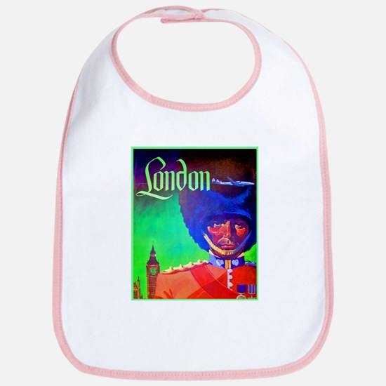 London Travel Poster 1 Bib