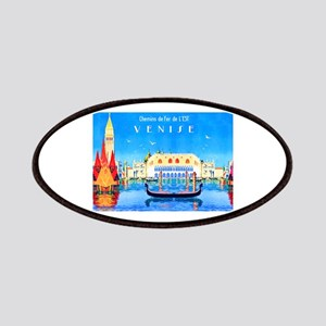 Venice Travel Poster 3 Patches