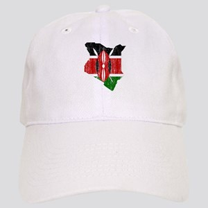 Kenya Flag And Map Cap