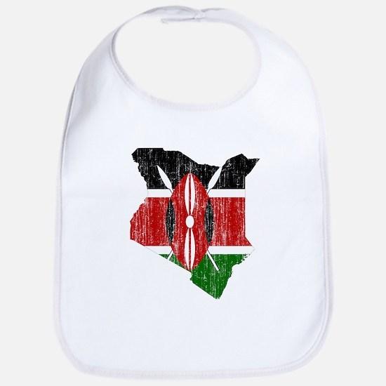 Kenya Flag And Map Bib