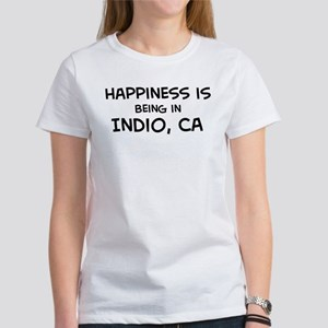 Indio - Happiness Women's T-Shirt