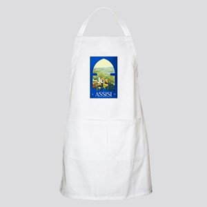 Assisi Italy Travel Poster 1 Apron
