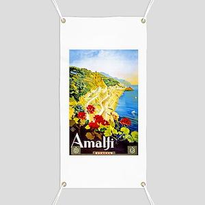 Amalfi Italy Travel Poster 1 Banner