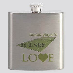 TENNIS PLAYERS DO IT WITH LOVE Flask