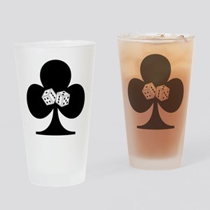 Dice Club Drinking Glass