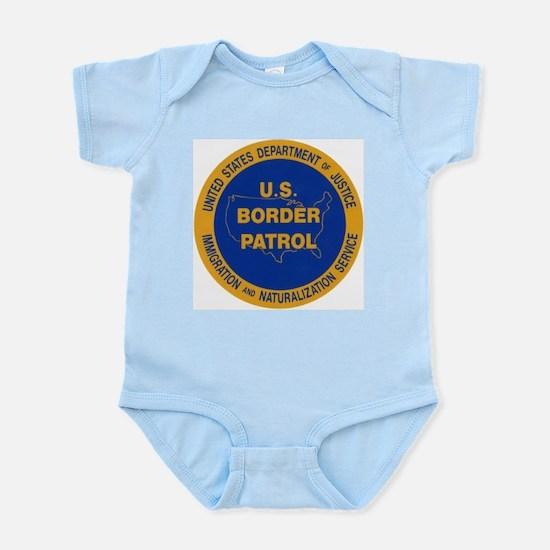U.S. Border Patrol Infant Creeper