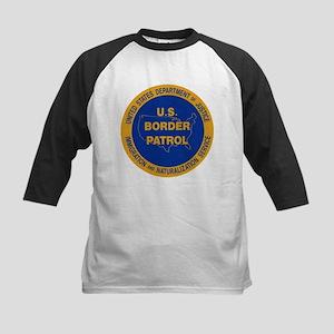 U.S. Border Patrol Kids Baseball Jersey