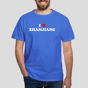 I Love Zhanjiang Dark T-Shirt