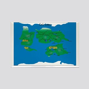 Celi Lawr Map Magnet