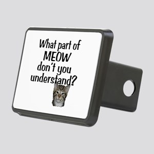 MEOW Rectangular Hitch Cover