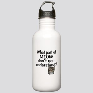 MEOW Stainless Water Bottle 1.0L