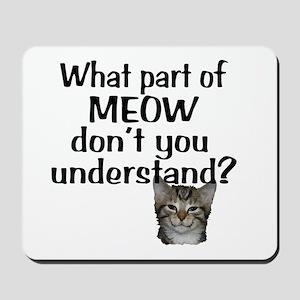 MEOW Mousepad