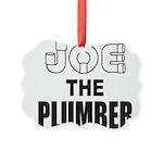 JOE THE PLUMBER Picture Ornament