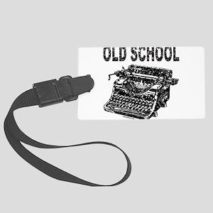 OLD SCHOOL TYPEWRITER Large Luggage Tag