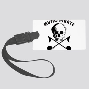 MUSIC PIRATE Large Luggage Tag