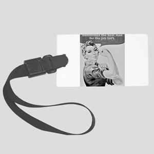 WORKING WOMEN Large Luggage Tag
