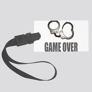 HANDCUFFS/POLICE Large Luggage Tag