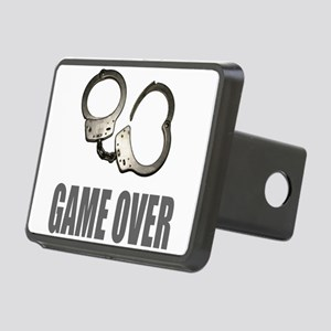 HANDCUFFS/POLICE Rectangular Hitch Cover